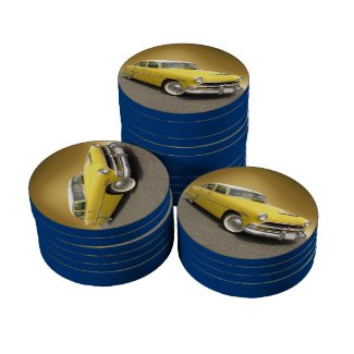 Hudson Hornet ~ Poker chip Poker Chips Set