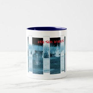 Hudson Mills #4 Two-Tone Coffee Mug