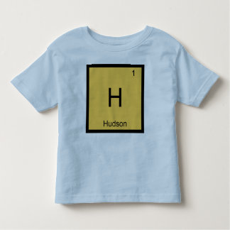 Hudson  Name Chemistry Element Periodic Table T-shirt