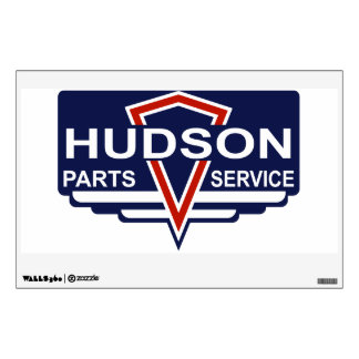 Hudson Parts & Service vintage sign Wall Graphics