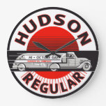 Hudson Regular Gasoline vintage sign clock Wallclock