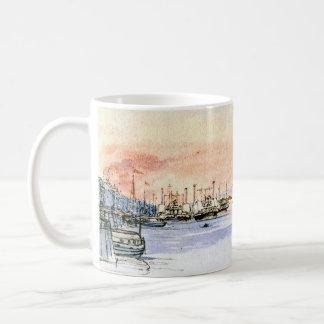 Hudson River Albany New York 1846 Coffee Mug