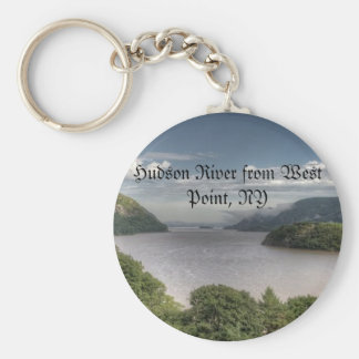 Hudson River from West Point, NY Keychain