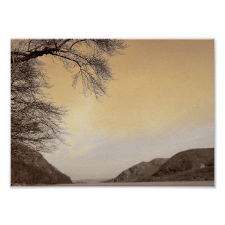 Hudson River from West Point Poster