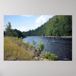 Hudson River in the Adirondacks. print 08 158