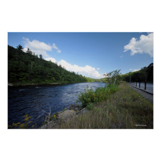 Hudson River in the Adirondacks. print 08 160