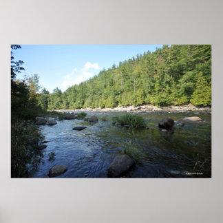 Hudson River in the Adirondacks print 08 165
