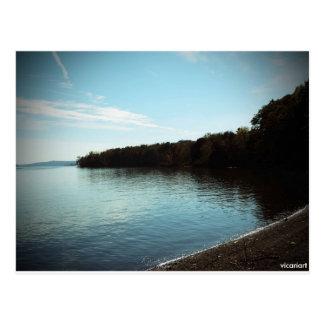 Hudson River Kingston NY Photo Postcard