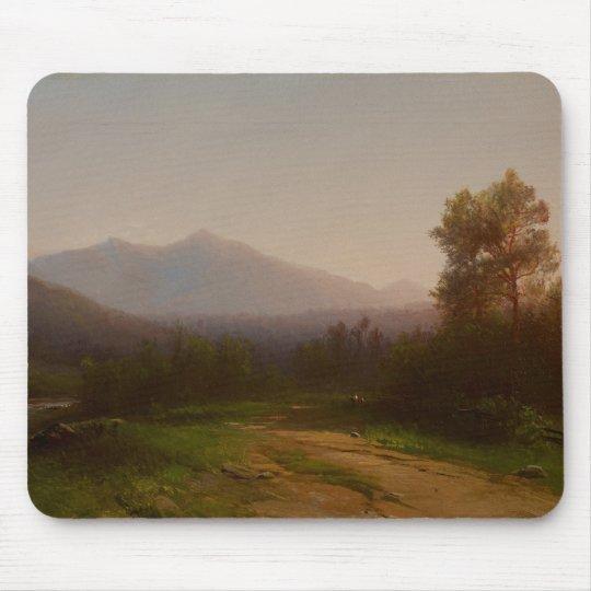 Hudson River Landscape, c.1860-5 (oil on canvas) Mouse Pad
