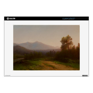 Hudson River Landscape, c.1860-5 (oil on canvas) Laptop Decal