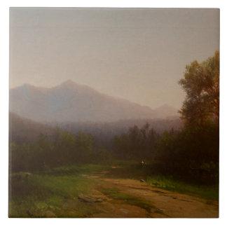 Hudson River Landscape, c.1860-5 (oil on canvas) Tile
