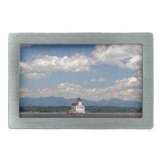 Hudson River Lighthouse Belt Buckle
