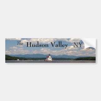 Hudson River Lighthouse Bumper Sticker
