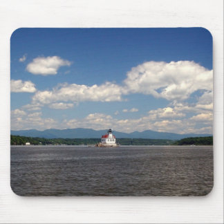 Hudson River Lighthouse Mouse Pad
