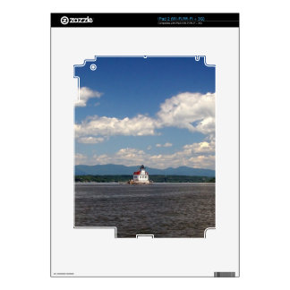 Hudson River Lighthouse Decals For iPad 2