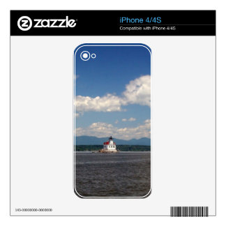 Hudson River Lighthouse Skin For iPhone 4S