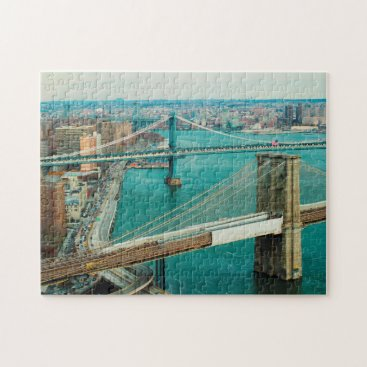 USA Themed Hudson River New York. Jigsaw Puzzle