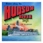 Hudson River New York to Albany Posters