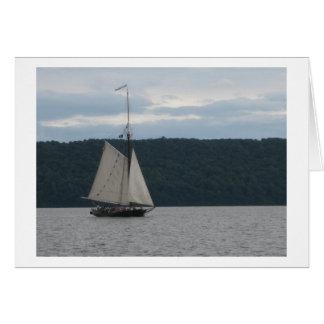 Hudson River Sloop Clearwater Card