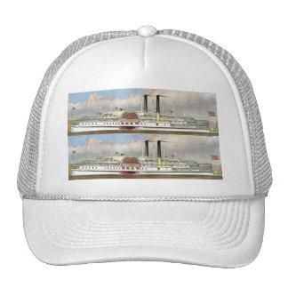 Hudson River Steamer 1877 Bookmark Trucker Hat