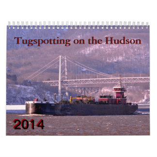 Hudson River tugboats Wall Calendar