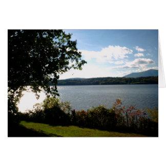 Hudson River View Card