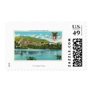Hudson River View of US Military Academy Postage Stamp