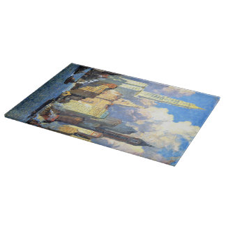 Hudson River Waterfront - Colin Campbell Cooper Cutting Board