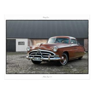 Hudson Super 6 '51 Postcard