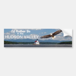Hudson Valley Car Bumper Sticker