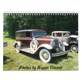 Hudson Valley Car Shows Wall Calendar
