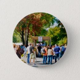 Hudson Valley Garlic Festival Pinback Button