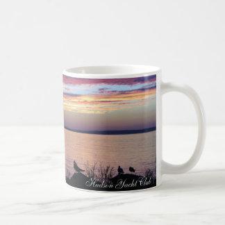 Hudson Yacht Club Mug, Serene Sunset Coffee Mug
