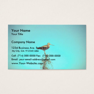 Hudsonian Godwit Business Card