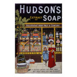 Hudson's Soap 1895 Posters