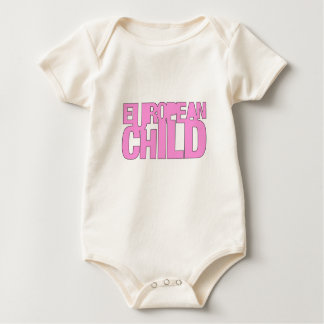 Hue and Cry - European Child - Babygro (Girl) Baby Creeper