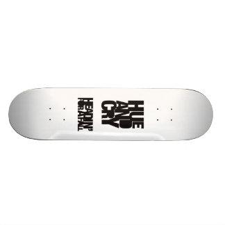 Hue and Cry - Headin' For A Fall - Skateboard