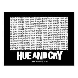 Hue and Cry Postcard