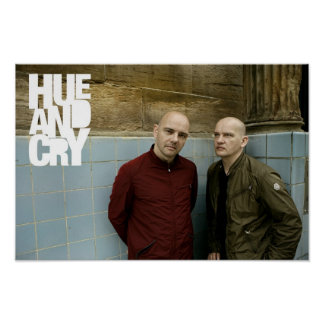Hue and Cry - Poster