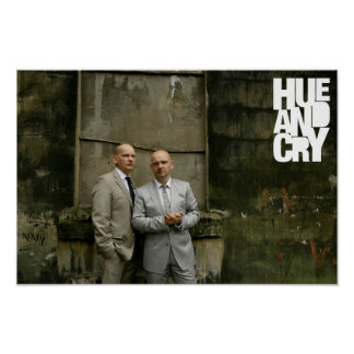 Hue and Cry - Poster (suits)
