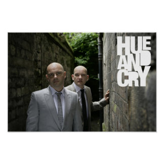 Hue and Cry - Poster (suits 3)