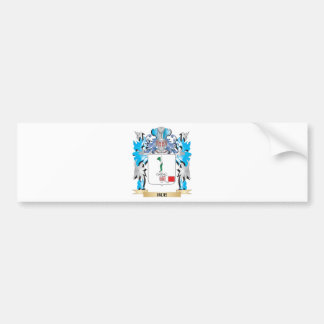 Hue Coat of Arms - Family Crest Bumper Stickers