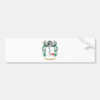 Hue Coat of Arms (Family Crest) Bumper Sticker