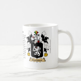 Huebner, the Origin, the Meaning and the Crest Coffee Mug