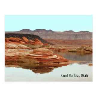 Hueco de la arena, Utah Tarjetas Postales