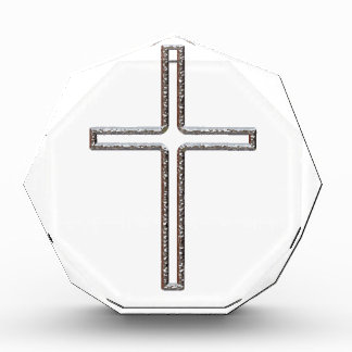 Hueco del crucifijo del cromo