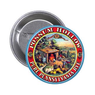 Hueco del oposum - botón pins