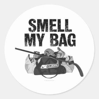 Huela a mi pegatina del bolso