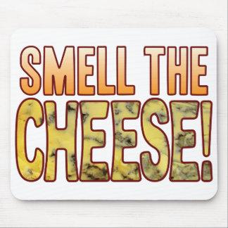 Huela el queso verde mousepad
