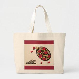 Huela los rosas bolsa de mano